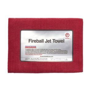 Fireball Jet Towel Red – premium mikrofibra