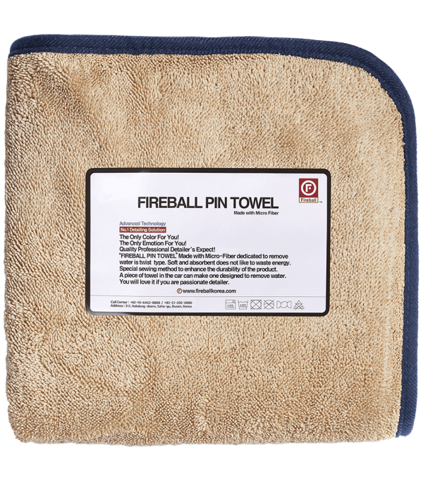 Fireball PIN Towel NAVY