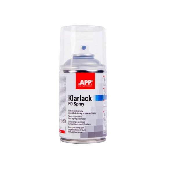 APP 2K Klarlack FD Spray Lakier bezbarwny dwuskładnikowy szybkoschnący