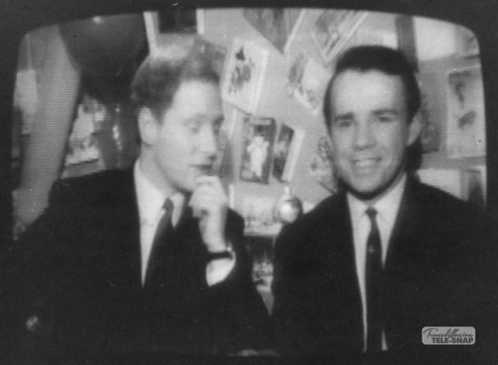 David Hamilton and John Duncanson at Christmas on ABC North 1967