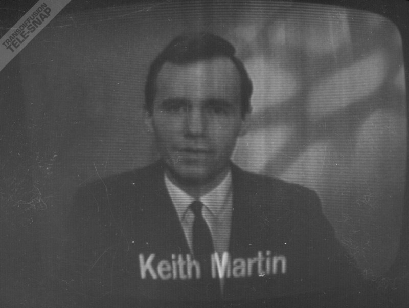 Keith Martin announces for ABC North in 1967