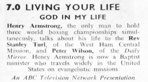 TVTimes for the Midlands w/c 16 November 1958