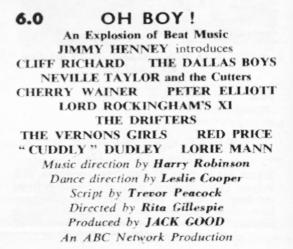 TVTimes for the Midlands, w/c 22 November 1958