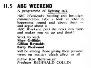 TVWorld 15 January 1966