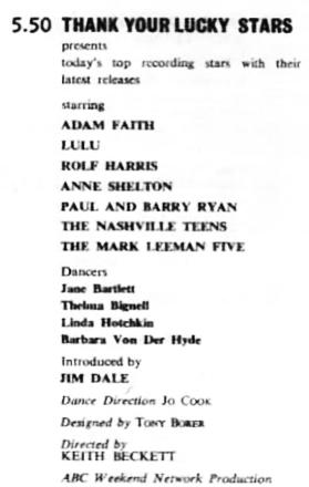 TVWorld, 15 November 1966