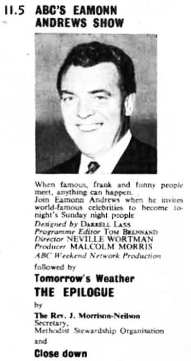 TVWorld, 16 November 1966