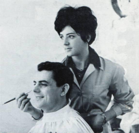SANDRA SYLVESTER, Make-up Artist, and JOHN EDMUNDS, Announcer, Alpha