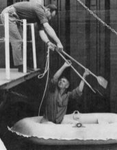 House Electricians LES BREWSTER and REG TAYLOR, Teddington