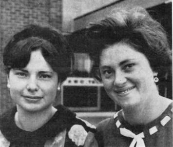 ELIZABETH MABLEY, Rachel Nelson's secretary, and ANGELA MABLEY, Casting Secretary, Teddington