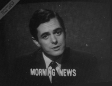 John Edmunds reads the morning news