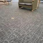 Commercial glue-down carpet