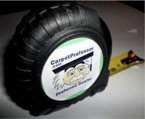 Carpet Professor Tape Measure