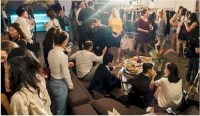 Crowded Livingroom