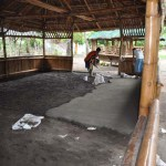 Cementing the Floor