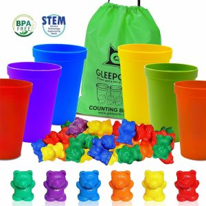 Counting and Learning Colors Bears