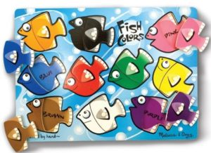 color fish puzzle learning colors toy