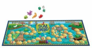Sum Swap Board Math Game For Kids