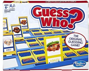 guess who board game travel activity