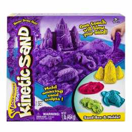 Kinetic Sand Set with toys sensory toy for kids