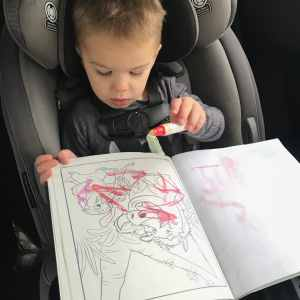 Crayola Mess-Free Coloring Travel Activity