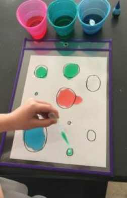 fill the dot fine motor activity