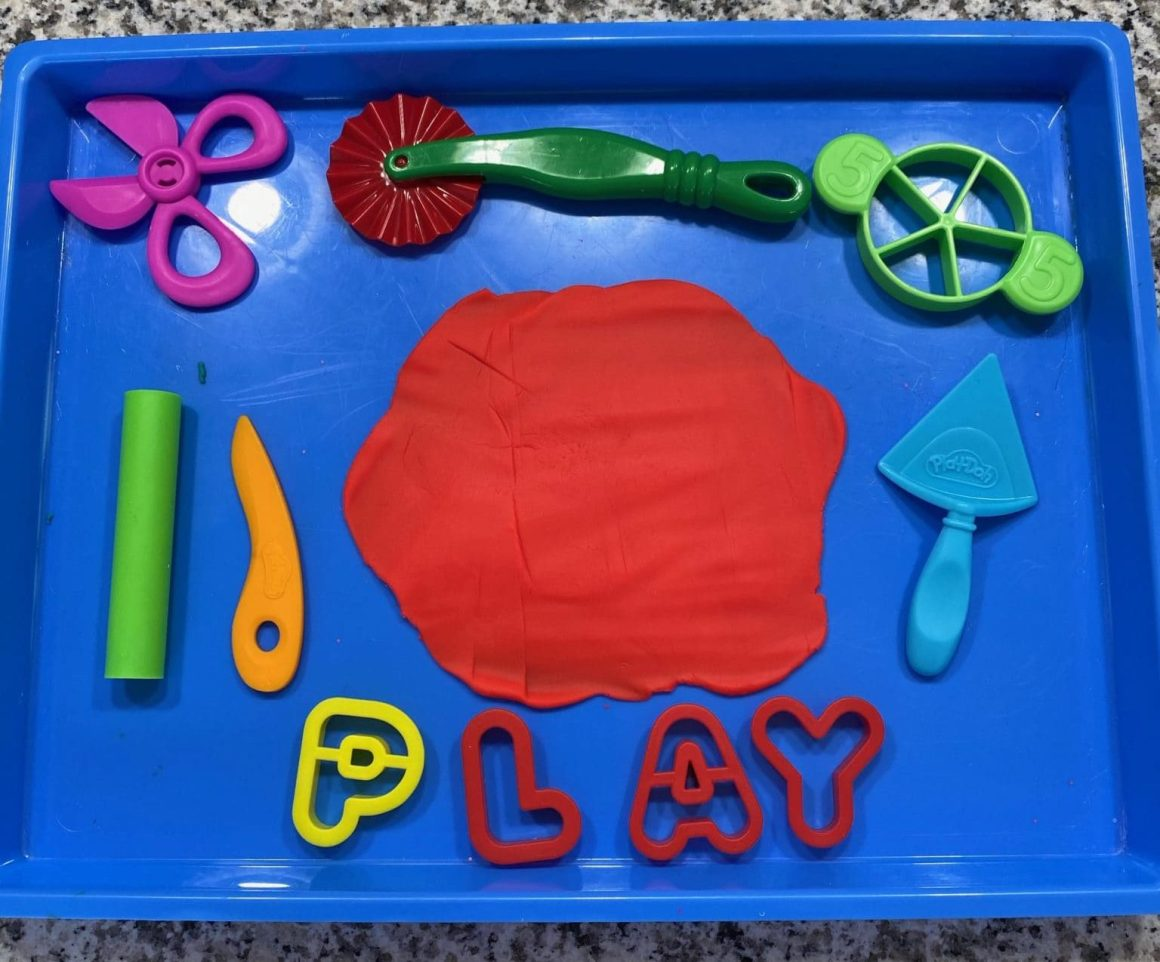play-doh fine motor tools