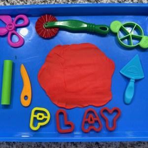 play-doh fine motor tools