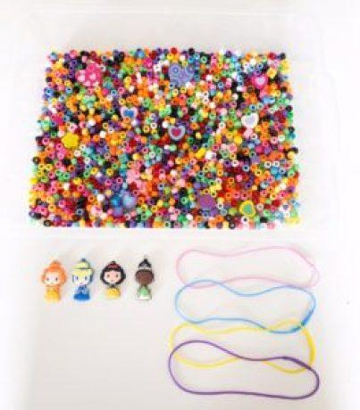 fine motor bead sensory play