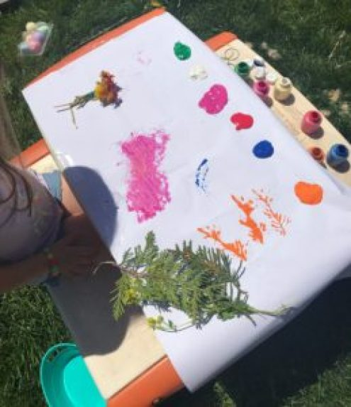 paint with nature