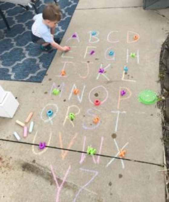 outdoor letter match