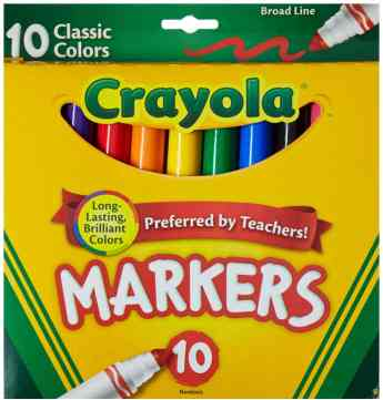 crayola markers