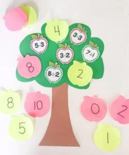 apple math tree