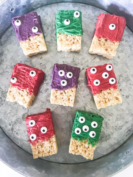 monster rice krispies