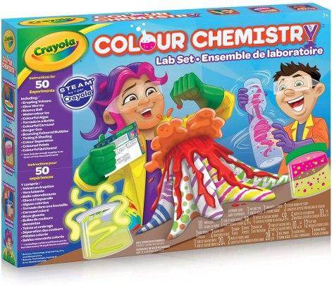 crayola chemistry set
