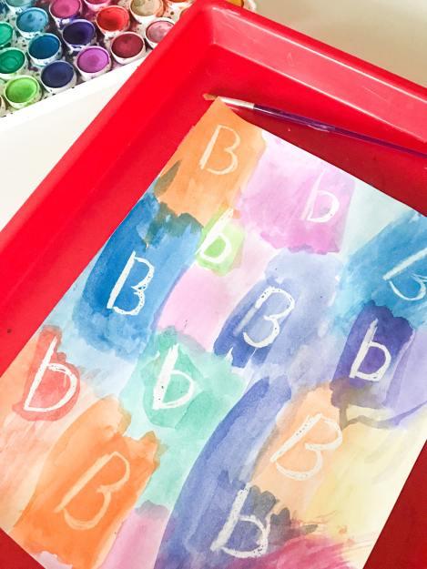 letter B secret letters