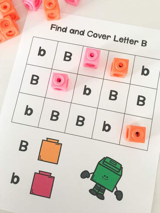 find and cover letter B