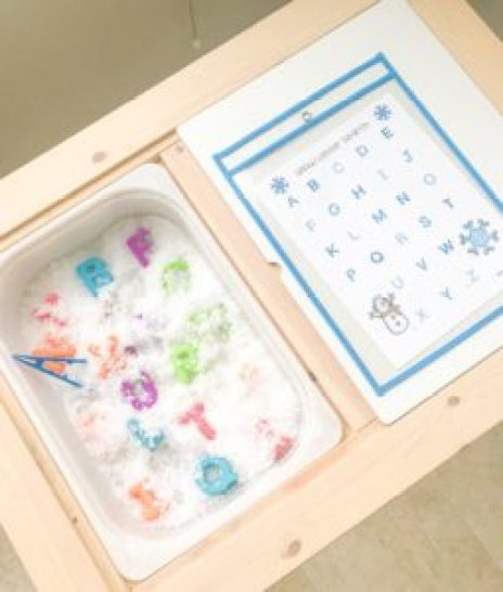 snow letter matching