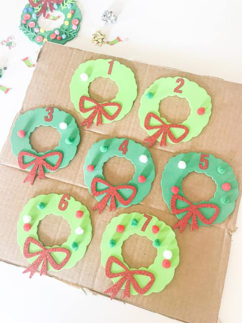 wreath counting activity
