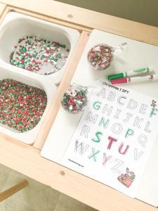 I SPY Christmas Letters