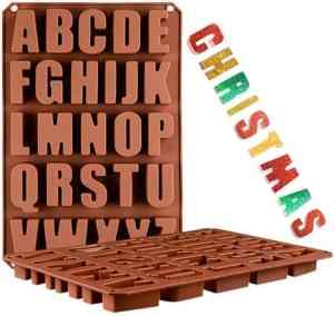 alphabet ice mold
