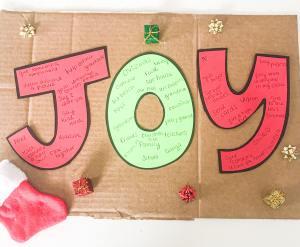 joy letter activity