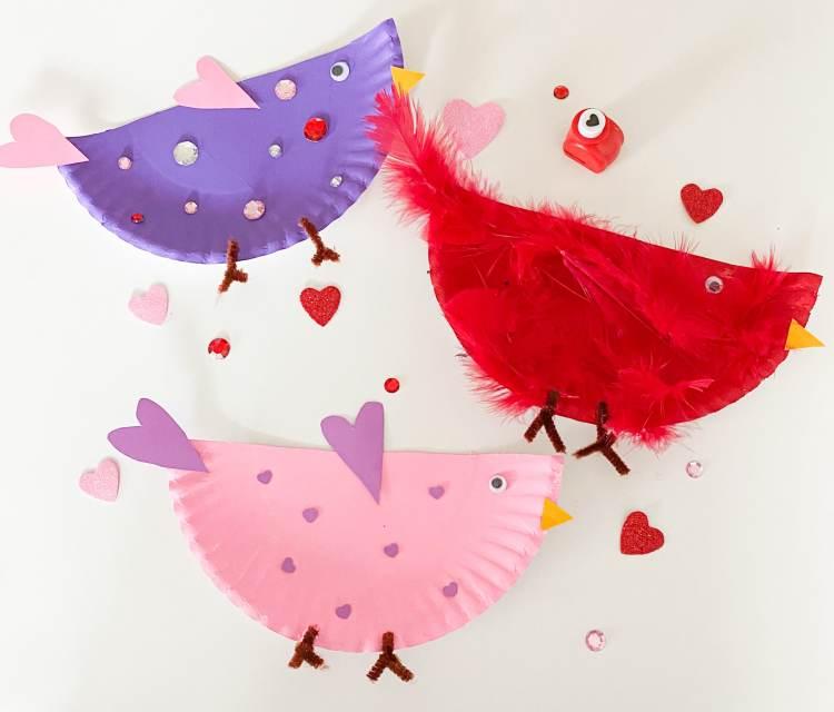 love bird plates