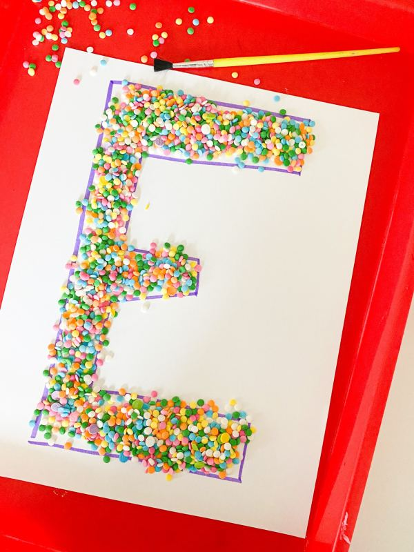sprinkle letter sweep