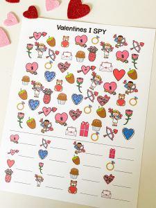 Valentine's I SPY
