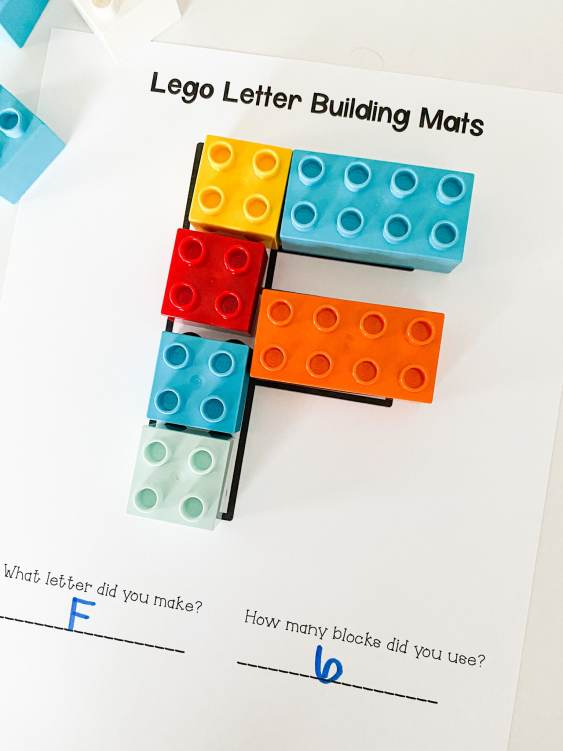 LEGO Letter Activity