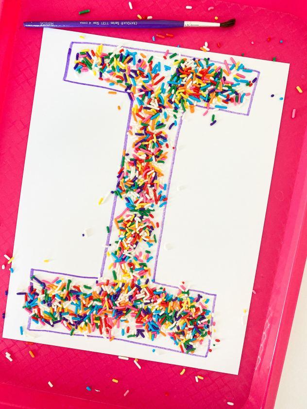 letter i letter sweep