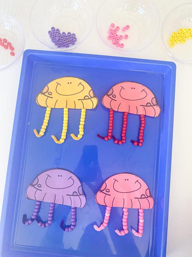 jellyfish fine motor activity