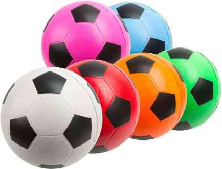 small soft soccer balls