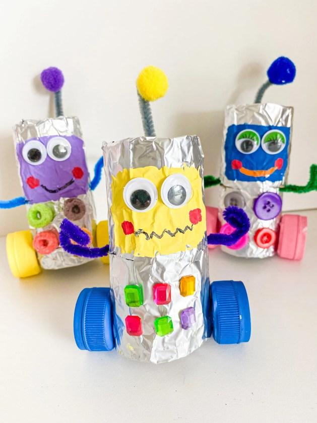 robot toilet paper tube craft