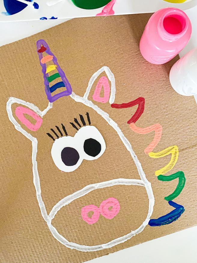 letter u unicorn craft